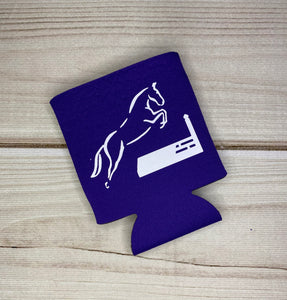 Neoprene Can Koozies for Horse Lovers