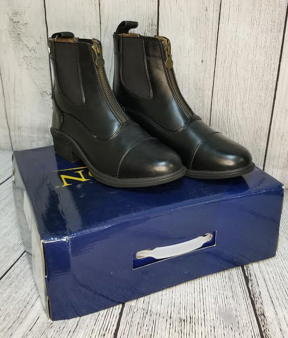 Ovation Ladies Quantum Zip Paddock Boot