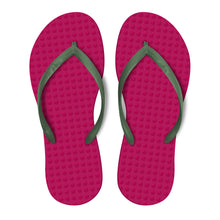 Load image into Gallery viewer, Fuchsia with Military Green - Women's