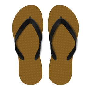Men's Sustainable Flip Flops Capucino sole with Black straps