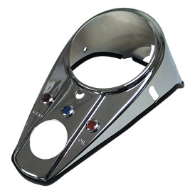 Instrument Panel Cover, 3 Light Style FL 1962/1967 or Any Fat- Bob Tank Replaces HD 71272-62