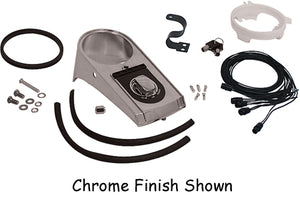 Instrument Panel Kit, L Style Softail 1996/1999 and Dyna Wide Glide 1996/1998 W/Hardware