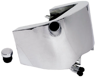 OIL TANK,OE STYLE 3 QT CP ALL SOFTAIL 1986/99 SIDE FILL W/CAP CHROME RPLS 62498-89A