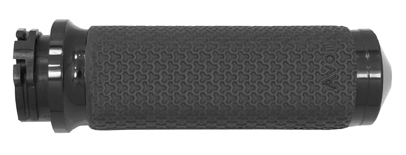 Hand Grips, Memory Foam Black, Fits Any Model With Exterior Cables, Mf-63-Ano