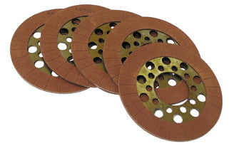 ALTO 5 FRICTION DISCS WET OR DRY CLUTCH HARLEY BIG TWIN 1941/EARLY 1984
