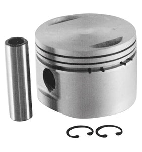 "Piston, Cast 8.5:1 Std Bore BT EVO 1340Cc W/Pin+Lock Rings 3-1/2"" Std Bore Std Compression"