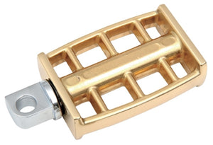 "Kick Start Pedal, Brass Grate BT 1936/1976, K Sportster 1952/1976 Replaces HD 33175-16A"" Hardware"" 187"