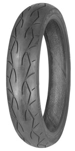 TIRE, FRONT 130/50B23 VRM-302 BLACK SIDE WALL VEE RUBBER M30216