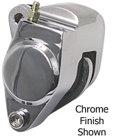 Brake Caliper,Front Oem Style Single Disc All Models 84/99 (Ex Fxsts & Fl 4 Spd) Chrome