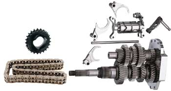 DIRECT DR 6SPD BUILDERS KIT FLH/FLT 2001/2006,EFFECTIVE 3.24 1ST,.86 6TH BAKER.DD411P
