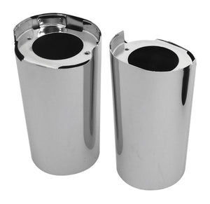 Fork Slider Covers, Chrome FLT Models 2014/Later* Replaces HD 45600022