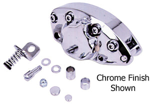 Chrome Single Piston Rear Caliper Harley Ironhead Sportster XL 1979/1981 Replaces HD# 44024-79