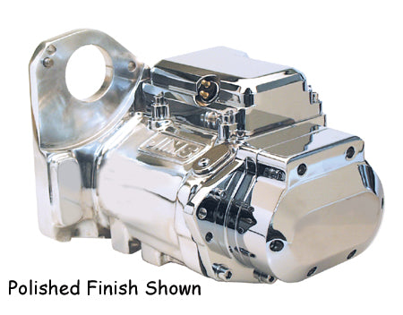 6 Speed Transmission Assembly Softail 90/99 Polished W/CP Top and Side Cover s, Jims 8004C6
