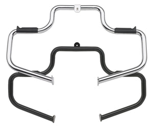ENGINE GUARD,HIGHWAY BAR CP FITS 91/L* DYNA W/STOCK FWDCTL MULTIBAR STYLE W/HARDWARE