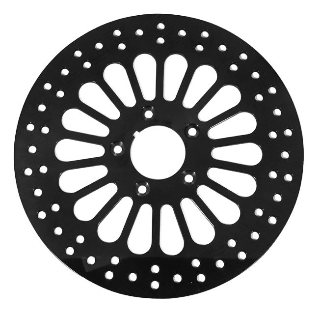SUPER SPOKE BRAKE DISC, BT 81/L* REAR (EX FLT),11.5 OD SPT 79/L* REAR,BLACK FINISH