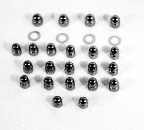 TOP RKR ARM CVR & SFT NUT KIT SHOVEHEAD ALL YRS CP ACORN NUT RPL 6466W 7753 7875 7137-22