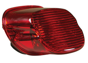 LAYDOWN TAILLIGHT LENS,RED ST L03/L*(EX FXSTD,FLSTS),FLT DYNA,SPT,WITHOUT LICENSE LENS