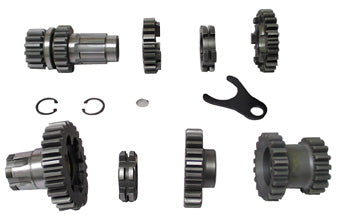 TRN GEAR SET,W/O SFTS ANDREWS BT 36/E76 2.60 LOW & STOCK 3RD WITH FORKS & CLUTCHES .210450