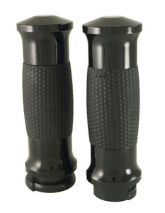 Hand Grips, GEL Style, Black Fits All Models With Exterior Cables Gel-70-Ano