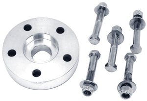 "PULLEY/SPRKT SPACER,1.09""THICK FL FX 73/83 REAR HUB FOR WIDE TIRE USE POL BILLET ALUM"
