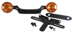 BULLET TURN SIGNAL BAR,BLACK TOURING MODELS 1999/2008 INCLUDES BULLET LIGHTS