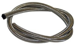 "FUEL LINE,FLEXIBLE BRAIDED SS CUSTOM USE W/HOSE END/WORM CLP 10FTX1/4""IDX1/2""OD 200-04-10"
