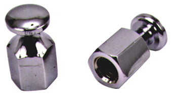 NUT,BUNGEE CHROMED 3/8-24 USE AS TIE DOWN KNOB ANYWHERE REPLACES HD 98184-90T