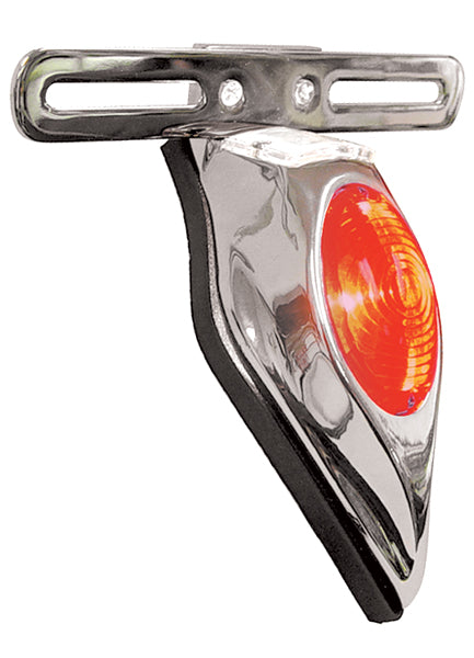 V-FACTOR TEAR DROP TAILLIGHT/LICENSE MOUNT FOR  CUSTOM USE
