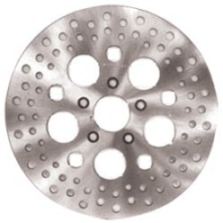 BRAKE DISC,DRILLED SS POL 11.5 ALL SINGLE/DUAL FR DISC 84/99 RPLS 44136-92 RUSSELL R47000PP