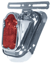 TOMBSTONE L.E.D. TAILLIGHT/MT ALL FL STYLE REAR FENDERS WITH WITH 73/98 TAIL LIGHT MOUNT CP