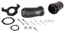 Load image into Gallery viewer, K & N AIRCHARGER PERF INTAKE SYSTEM HARLEY TOURING 2008/2015