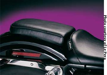 BARE BONES PILLION PAD,SMOOTH SPORTSTER 1982/2003 UW #27448 AND CUS SOLO SEATS,MFG# L-006P