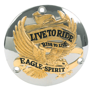 V-FACTOR EAGLE SPIRIT STYLE DOME DERBY COVER HARLEY DAVIDSON 1970/1988