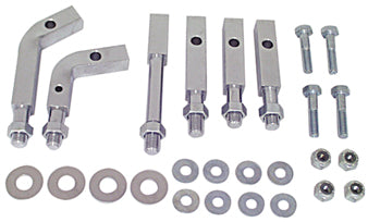 FOOTBOARD MOUNTING KIT CP BT 4 SPD 1941/1969,TIN OR ALUM PRIMARY, MECH OR HYD RR BRAKES