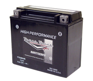 MAINTENANCE FREE BATTERY,12AMP V-ROD 2002/LATER* 200CCA 12V RPLS 65948-00 MFG#YTX14-BS