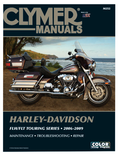 REPAIR MANUAL CLYMER M252 FLH/FLT TWIN CAM 2006/2009 DETAILED SERVICE & REPAIR