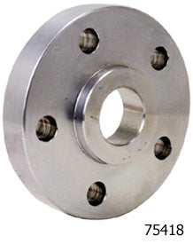 "Pulley/Sprocket Spc, 1.10"" Polished Fits Timken Brg Rr Wheel Hub UW BT 73/99 Sprocket or Pulley"