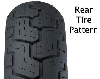 TIRE, MT90B16 DUNLOP REAR D402 SERIES BSW 10-1866