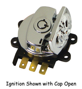IGNITION SWITCH FATBOB,SKULL ST 96/10,RK 96/13,FXDWG 93/11 WITH ROUND KEY