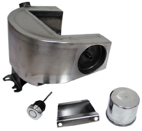 HorseshOE Oil Tanks For Big Twin 4 Speed