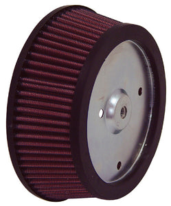 "K& N AIR FILTER ELEMENT,TAPERED RPLS OE SCREAMING EAGLE,6.25"" LRG OD X 2.125""HEIGHT,#HD-0800"