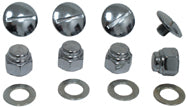 RKR SFT END PLUG & NUT KIT SH 66/E71 SPT57/E71 CP SLOTTED SCREWS,WASHERS COLONY 8222-8