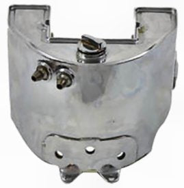 STOCK STYLE OIL TANK BIG TWIN 1958/1964 RAW STEEL