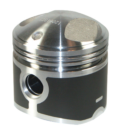 PISTON, 8.5:1 +.030 MOLY BT 74CI W/PIN & LOCKS 3 7/16 +.030