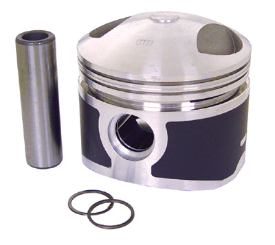 PISTON, 8:1 +.020 MOLY BT SHOV 1340CC W/PIN & LOCKS 3 1/2 +.020