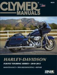 REPAIR MANUAL, CLYMER M253 FLH/FLT TWIN CAM 2010/2013 DETAILED SERVICE & REPAIR