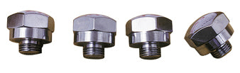 RKR SFT END PLUG KIT KN STYLE SH IHD SPT L 71/LATER CHROME RPLS HD 17448-71A COLONY7142-4