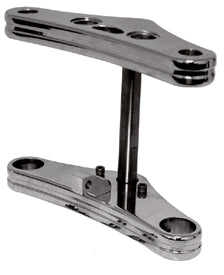 Hardbody Billet Front Fork Bracket Kits For Wide Glide Forks