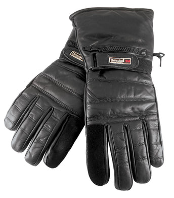 WINTER GAUNTLET GLOVE WITH 3M INSULATE & RAIN COVER, LARGE