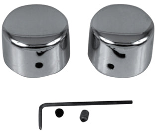 Axle Nut Cover Kit, Rear CP FL 4Spd 81/84, FLT 80/88, FXWG 82/85, St 84/86 FX, FXR, XL 81/88